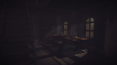 Grim and Somber Jyggalag ENB with Shadows mod