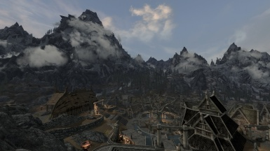 Early morning view from Dragonsreach