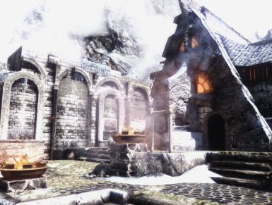 A glimpse at Windhelm