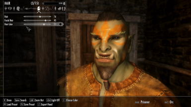 Making an Orc