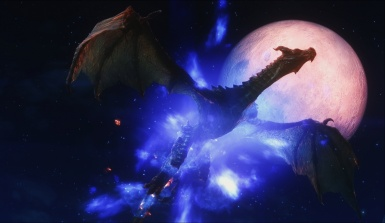 the dragon and the moon