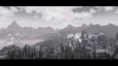 Somber ENB Montains