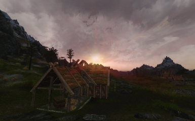 Sunset in the Plains of Whitrun