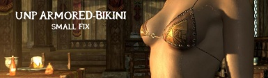 UNP Armored Bikini - Player Inventory Fix