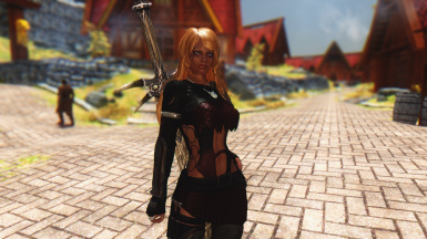 Evin new armour