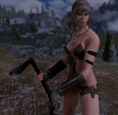 Jahna and her axe