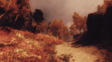 The lands of Skyrim