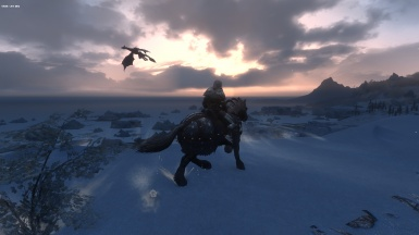 Sunshot with horse and dragon