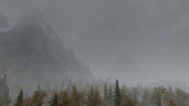 Mist and Moutains