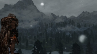 Cold and Harsh Lands of Skyrim