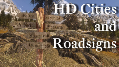HD Cities and Roadsigns