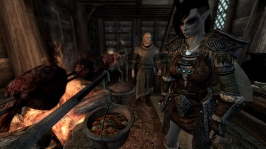 A hungry Dunmer