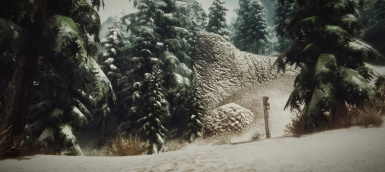 CAUSE - Bob Ross Style Winter Forest