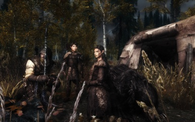 Camping and hunting near Riften