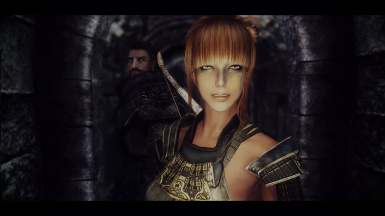 Girl in the nord