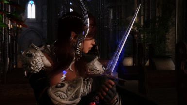 - Maiden with sword -