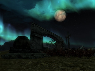 Terminan Forge Under a Full Moon