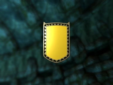 Golden Mirror Shield