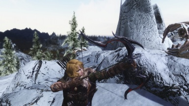 Norine the escaped Thalmor prisoner