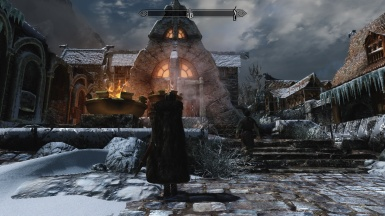 Standing in Front of Candlehearth Hall