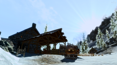 Peaceful Windhelm Stables