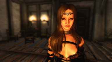 Sexy real girl in skyrim