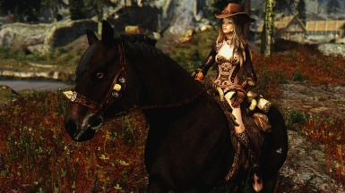 real cowgirl in skyrim