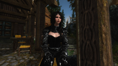 SBF Serana with Lustmord and Hairstyler