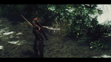 Ahktub setting an arrow free