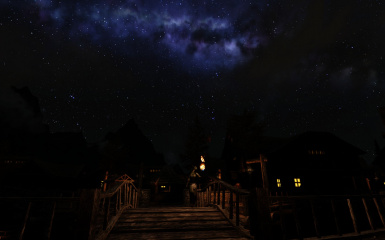Evening in Riften