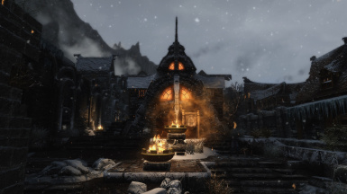 Windhelm Snowy Evening