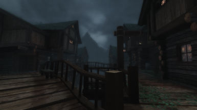 A calm night in Riften