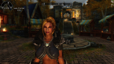 Beautiful woman new to Whiterun