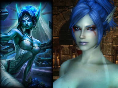Morgana in skyrim-Ghostbride