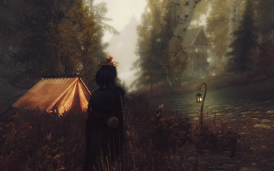 Grim and Somber Enchanted ENB near Shors Stone