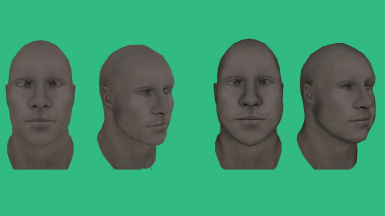 Better Males - More Variation Head Preview