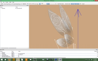 Fairy Wings WIP 2