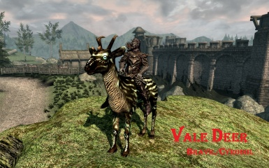 Vale Deer mount in Skyblivion