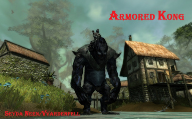Armored Kong mount in Skywind