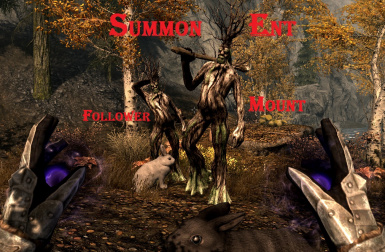 Ent Summonable Mount and Follower in Skyrim