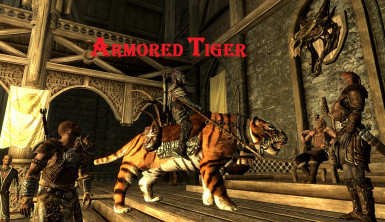 Tiger in Skyrim