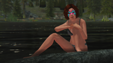 Sexy Wednesday - Casandra enjoys her free time at the lake
