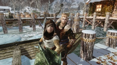 Brynjolf and Sofie aka Father and Daugheter