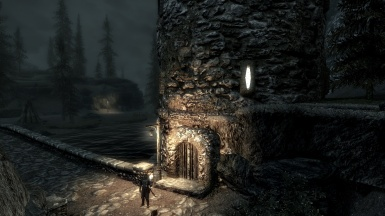 Riverwood Fort at Night