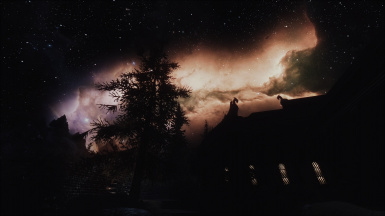 Nightsky over Whiterun