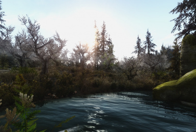 Trying out Realvision ENB By SkyrimTuner