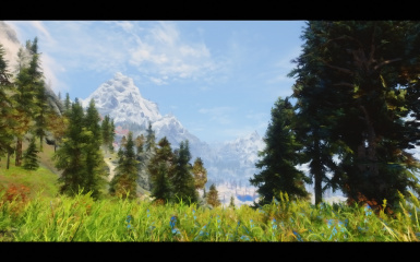 Skyrim paint effect