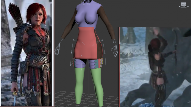 Lelianas Sacred Ashes Trailer Armour WIP