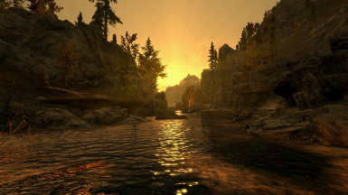 Dawn on the road to Ivarstead