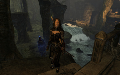 Serana with her new outfit